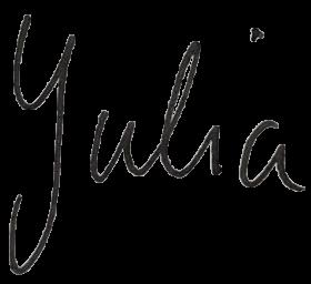 Unterschrift Julia