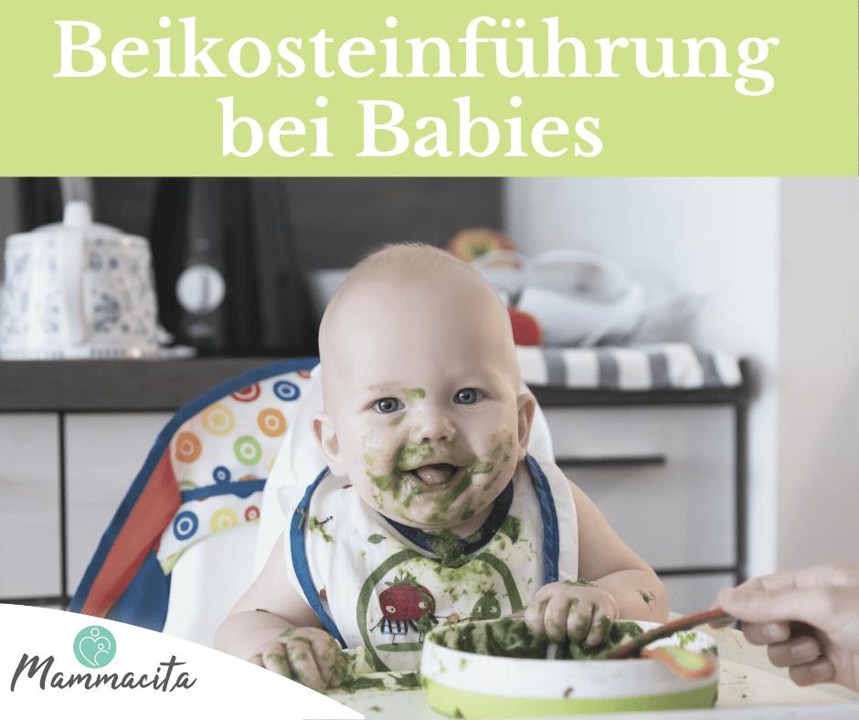 Beikosteinführung bei einem Baby