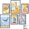 Kinderzimmer Poster Set
