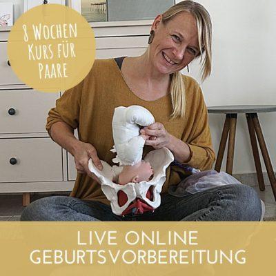 Live Geburtsvorbereitungskurs Online für Paare
