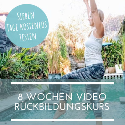 Online Rückbildungskurs Video Rückbildung