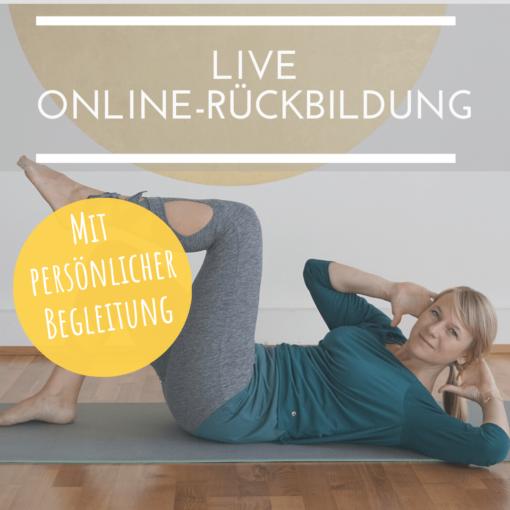 Live Online Rückbildungskurs mit Hebamme Julia Ronnenberg
